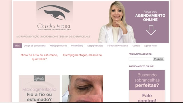 poder do blog de Claudia Kerber
