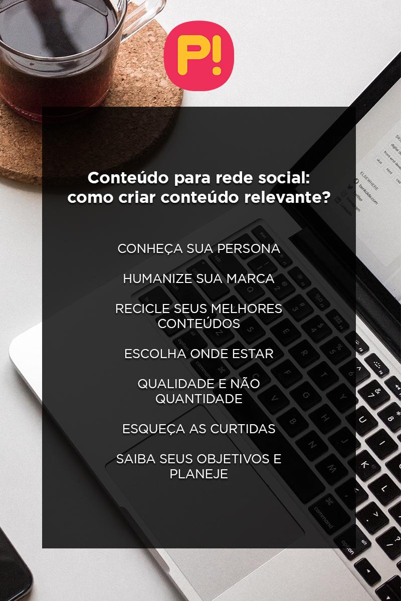 conteúdo para rede social